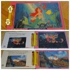 ディズニーパズル リトルマーメイド 20ピース・24ピース・28ピース 2€