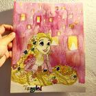 子どもの喜ぶ絵が描けます。 参考画像①