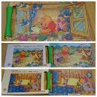 ディズニーパズル プーさん 4ピース・6ピース・8ピース 2€